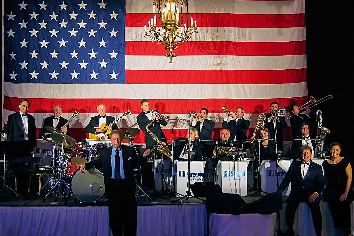 The Bill Sargent Big Band at the Pfister Hotel - - Milwaukee, Wisconsin USA