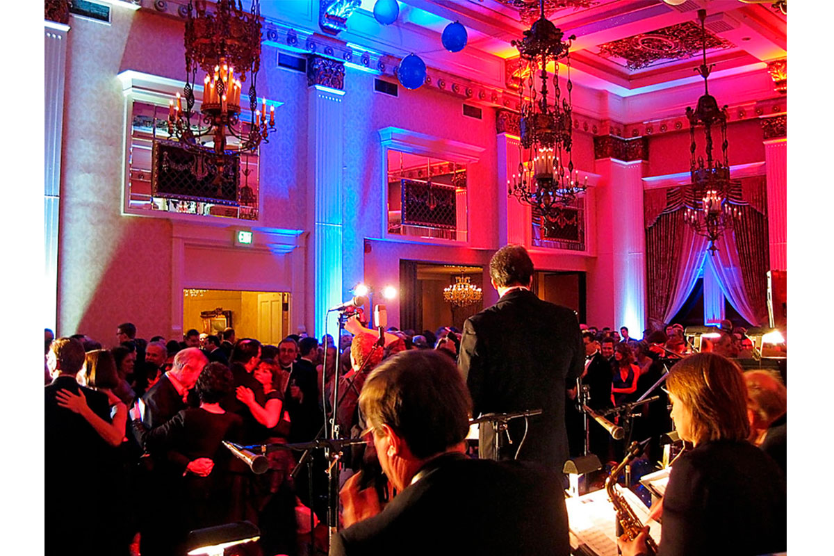 The Bill Sargent Big Band performs live music for weddings, special events, and parties in Milwaukee and Wisconsin