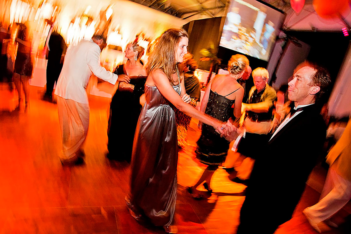 Dancing to the Bill Sargent Big Band which provides live music and entertainment for weddings, special events, and parties in Milwaukee and Wisconsin