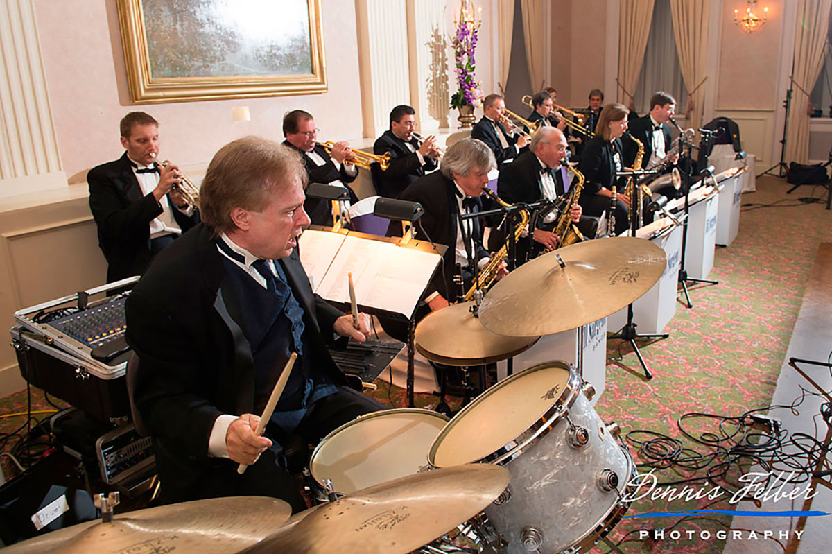 Bill Sargent Drumming with The Bill Sargent Big Band at the Milwaukee Athletic Club